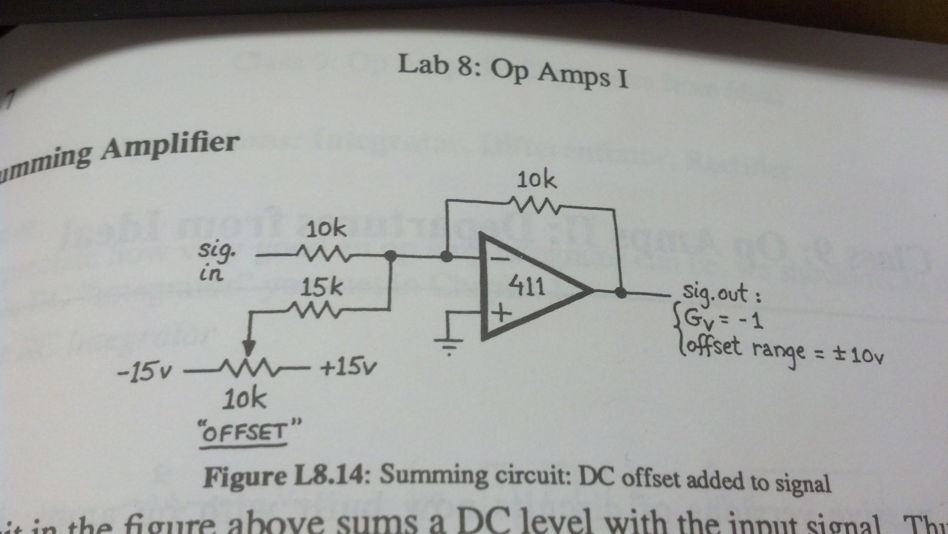 March 1st And 5th 2013 Op Amps Jackies Design Blog Operational Amplifiers Summing Amplifier 03 05 14 06 44 51